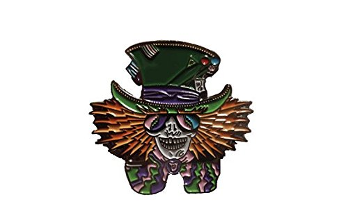Grateful Dead Mad Hatter Heady Hat Pin