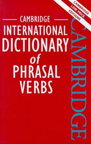 Cambridge International Dictionary Of Phrasal Verbs Pdf