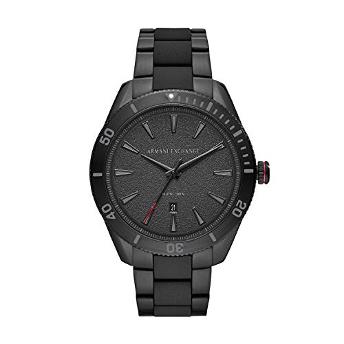Armani Exchange Mens Analogue Quartz Watch with Stainless Steel Strap ()