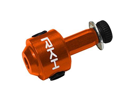 Rakonheli CNC AL Tail Rotor Hub (Orange) - Blade 130 S, 200 S, 230 S, 250 CFX