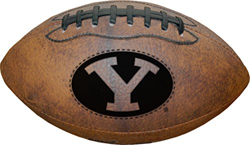 NCAA BYU Cougars Vintage Throwback Football, 9-Inches