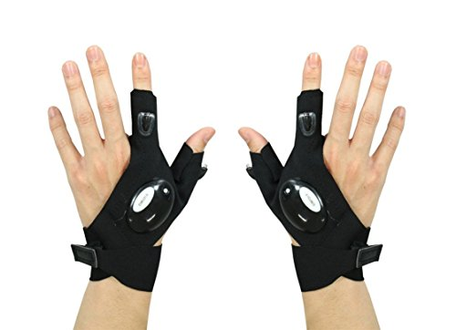 Nifty flashlight gloves