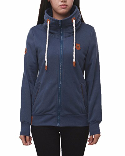 Auxo Casual Pullover Drawstring Sweatshirt