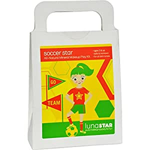 Amazon.com: Luna Star todos los Natural Soccer Star Play Kit ...