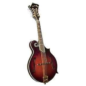 Kentucky KM-855 - Mandolina (4 cuerdas, tipo bluegrass), color marrón