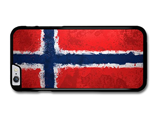 Norwegian Flag Norway Norske Flagg coque pour iPhone 6 Plus 6S Plus