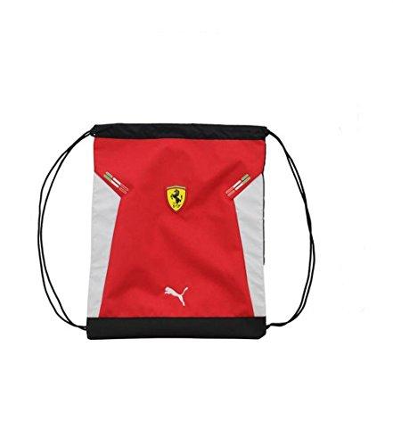 Puma Ferrari Replica Carry Sackpack Red/white Unisex Bag PMMO1003 - Puma Sackpack