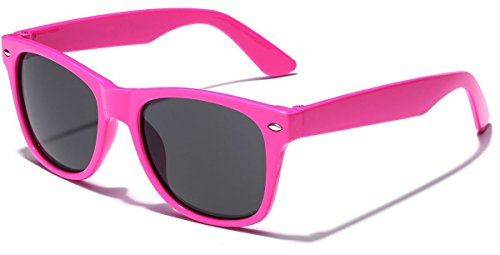 Kids Sunglasses (Kids Neon Classic Sunglasses Age 3-12 - Pink)
