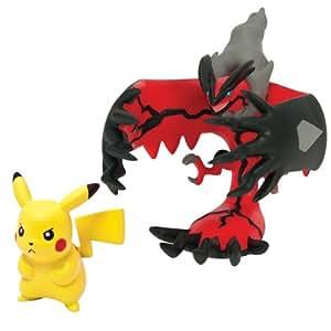 Pokémon - Figuras Legendaria y Pikachu (Pikachu - Yveltal) (Bizak 30698531)