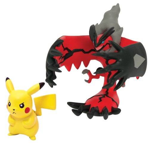 Pok%C3%A9mon Pack Figure Yveltal Pikachu