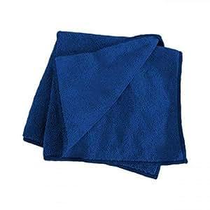 Dokan Microfiber Solid Pattern,Blue - Head Towels