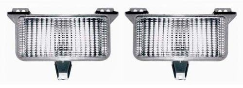 Chevy/GMC Replacement Turn Signal Light (with Single Headlight) - 1-Pair (Turn Jimmy Gmc Signal)