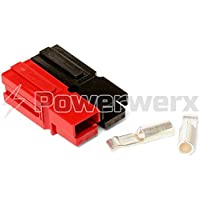 Powerwerx WP30-50 30 Amp Permanently Bonded Red/Black Anderson Powerpole Connectors - 50 Sets