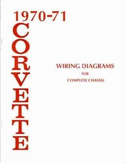 1970 1971 corvette wiring diagram manual reprint chevrolet 1972 Corvette Wiring Diagram
