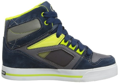 Skechers Yoke - Zapatillas, Niño Azul (Blau (NVYL))