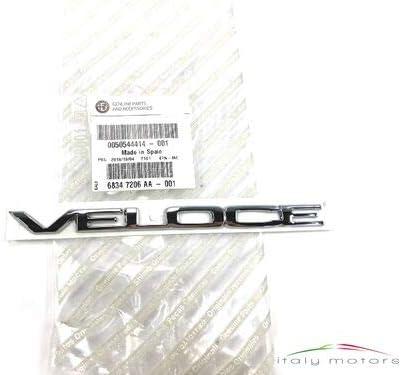 Alfa Romeo Original Veloce Modellzeichen Emben Schriftzug 50544414 Auto