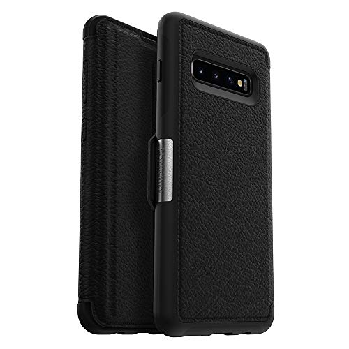 OtterBox STRADA SERIES Case for Galaxy S10+ - Retail Packaging - SHADOW (BLACK/PEWTER) by OtterBox (Image #7)
