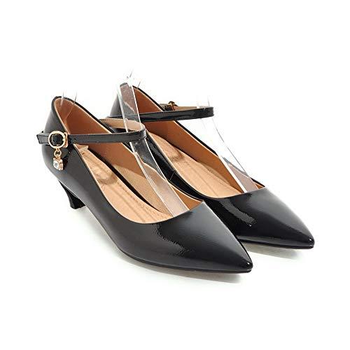 BalaMasa Femme 36 Noir 5 APL10704 Compensées Noir Sandales RqPwUparR