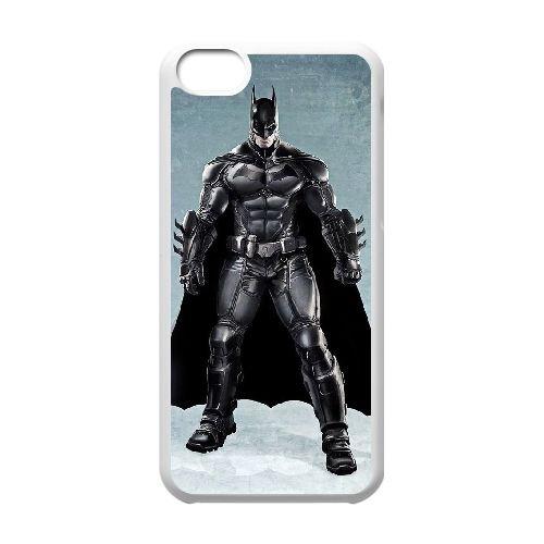 Batman coque iPhone 5C Housse Blanc téléphone portable couverture de cas coque EBDOBCKCO09874