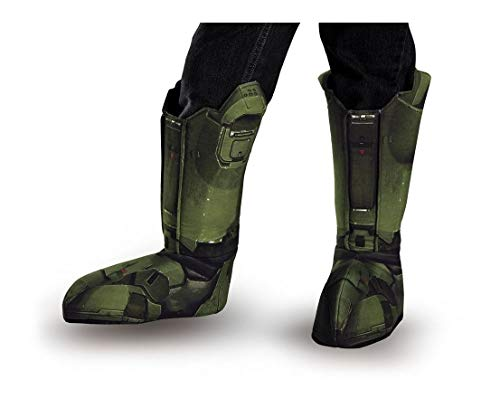 Halo Master Chief Child Boot Covers Green for $<!--$26.23-->