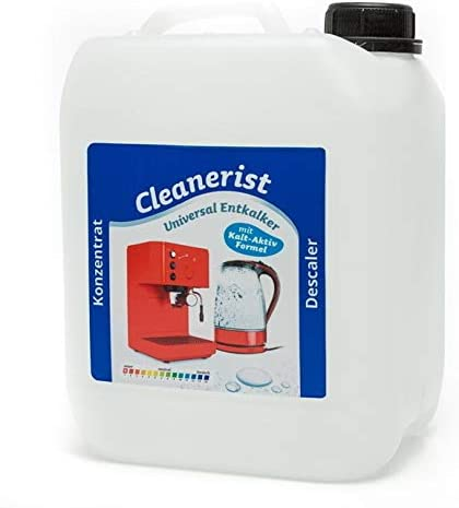Cleanerist 5 litros descalcificador flüssigent antical compatible con Z. B. DeLonghi (4,38 Euro/L): Amazon.es: Hogar