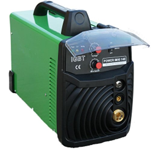 Everlast Power-MIG 140E MIG Welder, 110/120-volt, Green