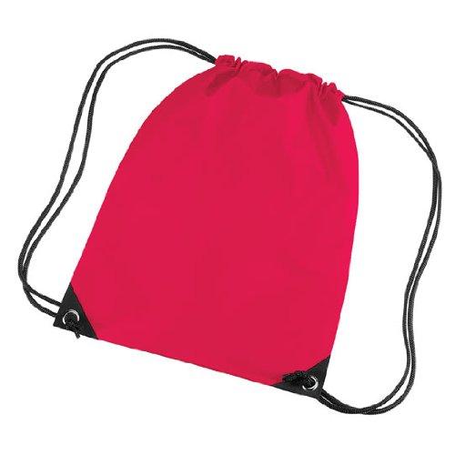 BagBase Unisex Retro Colours Zipped Pocket shoulder Strap bag Violet
