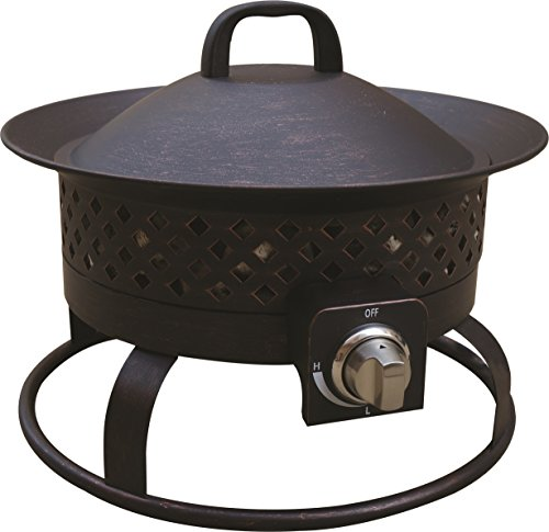 Bond 67836 Aurora Steel Gas Fire Bowl