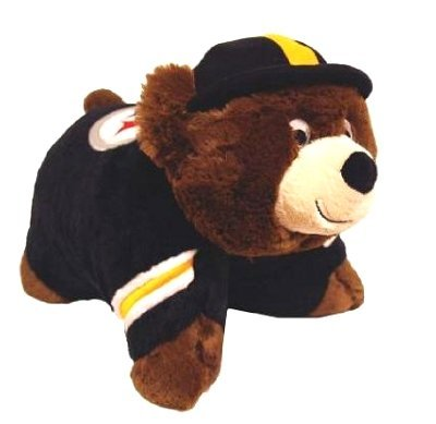 Fabrique Innovations NFL Pillow Pet , Pittsburgh Steelers, Large