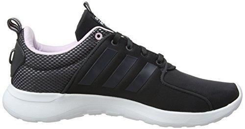 Adidas Dame Cloudfoam Lite Racer FitnessSko Grå (carbon S18 / Carbon S18 / Aero Lyserød S18 Carbon S18 / Carbon S18 / Aero Lyserød S18) H4DWY