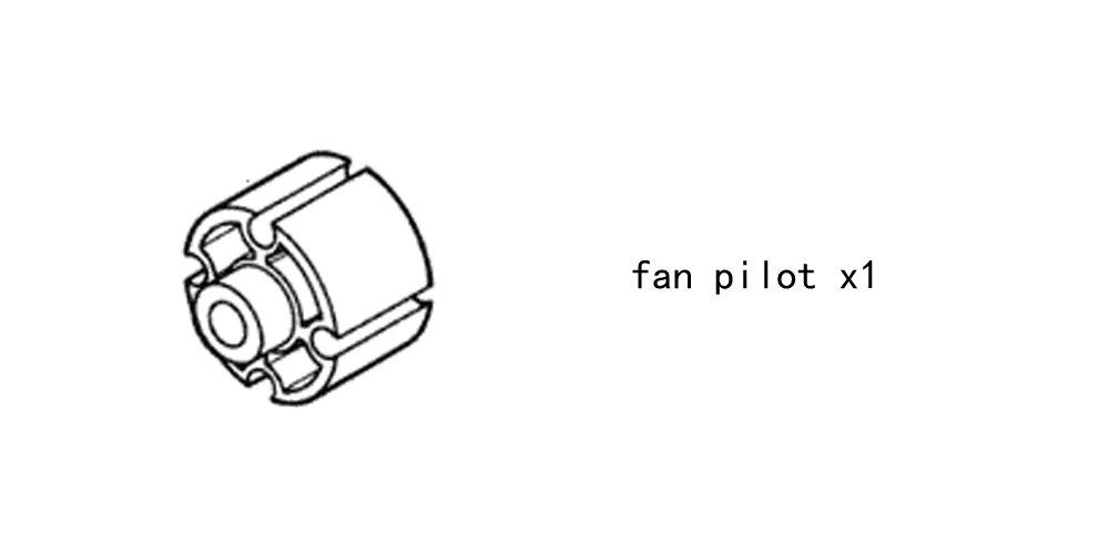 Fan Pilot 3903819 for diesel engine DCEC