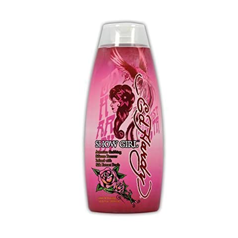 Ed Hardy Show Girl Hot Indoor Tanning Lotion Accelerator Bronzer Dark Tan Bed UV by Ed Hardy (Indoor Tanning Bed Accelerator)