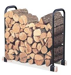 Adjustable Firewood Storage Rack - Weatherproof Steel
