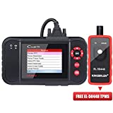LAUNCH OBD2 Scanner Creader VII+ (CRP123) Code Reader Engine/Transmission/ABS/SRS OBD2 Scan Tool + TPMS Activation Tool EL-50448 As Gift