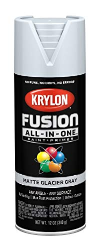 (Krylon K02757007 Fusion All-in-One Spray Paint, Glacier Gray )