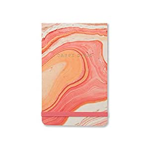 DesignWorks Ink Purse Note Pad, Marbled Paper- Carpe Diem