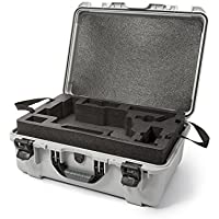 Nanuk Ronin M Waterproof Hard Case with Custom Foam Insert for DJI Ronin M Gimbal Stabilizer System - 940-RON5 Silver