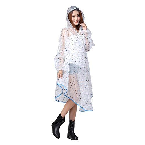 Raincoat Transparente Abrigo Ponchos Cape Impermeables Chaqueta Lluvia Cortavientos n8qZU8PwC