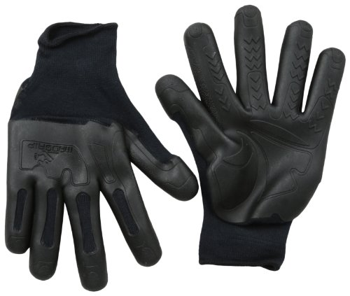 - Mad Grip F50 Pro Palm Knuckler Gloves, Black, Large/X-Large