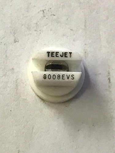 TeeJet TP8008EVS Spray Tip, Stainless Steel - White ()