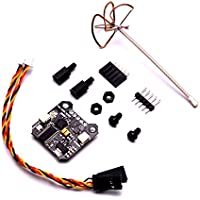 5.8G Transmitter FPV VTX OSD Board 40CH 25mw-200mw Switchable Transmitter for PIKO BLX Flight Controller 110-115 Micro Racer