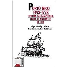 Porto rico 1493-1778