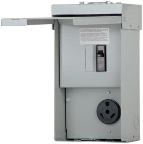 Rv Electrical Outlet >> Rv Power Outlet Panel Circuit Breaker Panels Amazon Com