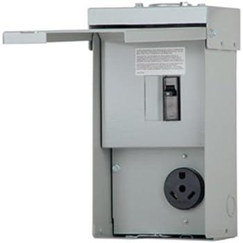 rv power outlet panel circuit breaker panels. Black Bedroom Furniture Sets. Home Design Ideas