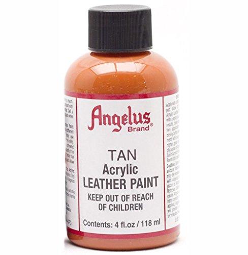 Angelus Leather Paint 4 oz Camel Tan (Camel Paint)