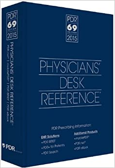 2015 Physicians' Desk Reference, 69th Edition (Physicians' Desk Reference (Pdr))