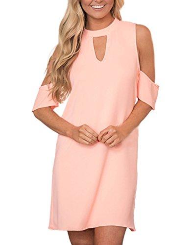 Kleider Damen Kurz Elegant Fashion Casual Festliche Kleid Elegant