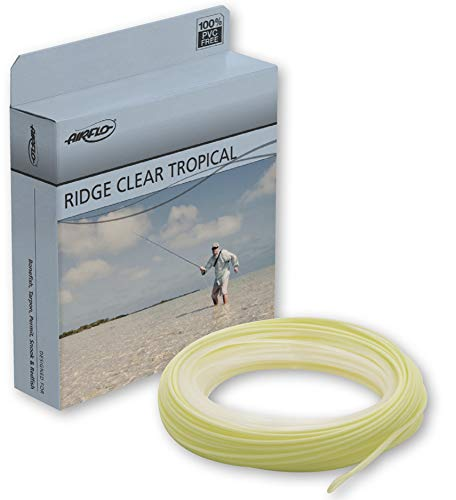 Airflo Ridge Tropical WF Floating 30' Long Fly Line - Clear/Yellow - 10