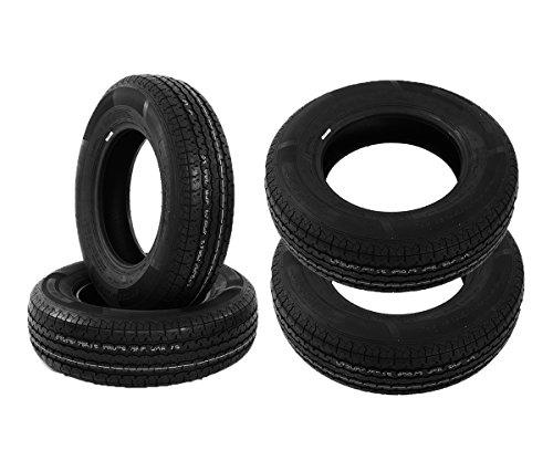 Set of 4 ST205/75R15 Radial Trailer Tires STR - St175 80d13 Trailer Tire