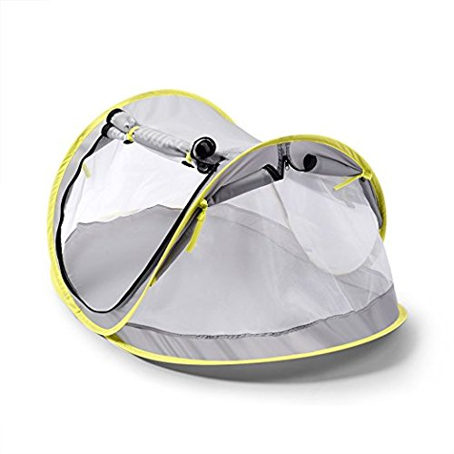 Amazon.com  baby travel bed Portable baby beach tent UPF 50+ sun shelter pop up mosquito net and 2 Pegs super lightweight  Baby  sc 1 st  Amazon.com & Amazon.com : baby travel bed Portable baby beach tent UPF 50+ sun ...